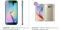 Galaxy S6 e Galaxy S6 Edge prezzo bassissimo dove comprarlo