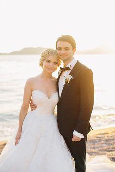 rosa clara Wedding Inspiration - Style Me Pretty