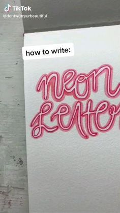 Bullet Journal Lettering Ideas, Bullet Journal Notebook, Bullet Journal School, Bullet Journal Ideas Pages, Bullet Journal Inspiration, Junk Journal, Hand Lettering Art, Hand Lettering Tutorial, Graffiti Lettering