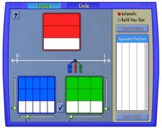 Math Coach's Corner: Interactive Equivalent Fraction Tool