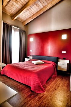 #Maranellovillage #rooms #red #cool