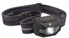 The Black Diamond Revolt headlamp is awesome because it has rechargeable batteries! See tips on how to buy a headlamp for camping and backpacking here.