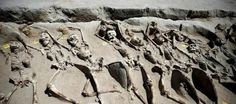 Archaeologists discover 80 shackled skeletons from mysterious ancient Greek execution