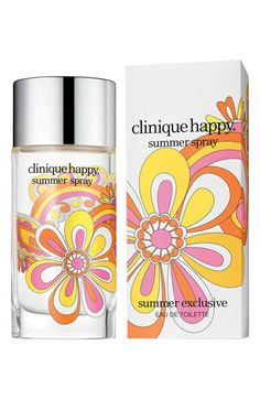 Clinique 'Happy Summer Spray' ~ I love all of the versions of Happy!