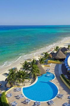 Playa #Cozumel, Quintana Roo #MÉXICO. una maravilla natural. Diana Cruz  Tour By Mexico - Google+ Hotels And Resorts, Best Hotels, Cozumel Mexico, All Inclusive, Riviera Maya, Wonderful Places, Trip Advisor, Explore, Vacation