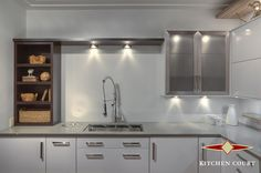 Our 3000 sq/ft showroom is conveniently located at the 401 and Brock Rd in Pickering with an appealing selection of kitchen displays showcasing some of the infinite choices in style and design available to you through Kitchen Court.