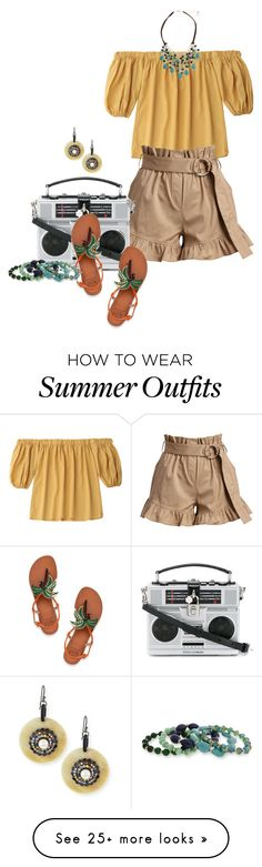 """""""All ruffled-up"""" by fiery555 on Polyvore featuring Cinq à Sept, Dolce&Gabbana, Tory Burch, Erica Lyons and Matthew Campbell Laurenza"""