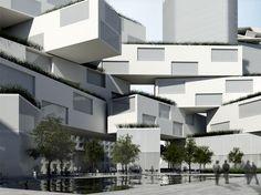 STEVEN HOLL ARCHITECTS - DONGGUAN MASTER PLAN