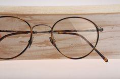 Vanni Mod 508 / Vintage round eyeglasses / NOS / by CarettaVintage, $125.00