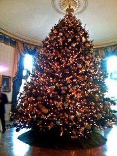 Whitehouse christmas tree