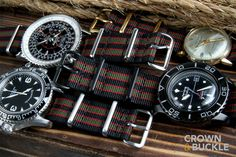 Black/Olive Premium NATO - 22mm - Have one of these on the way for my new Citizen EcoDrive
