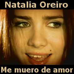 Natalia Oreiro - Me muero de amor acordes