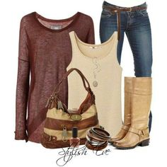 My cowgirl boys would work so well with this, and I live the color of the sweater!