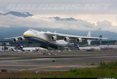 Antonov An-225 Mriya  departing from Anchorage,Alaska.