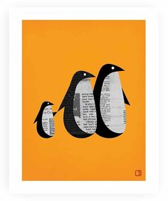 marr-tb:  Penguins (Pinterestから)