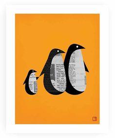 marr-tb:  Penguins (Pinterestから)