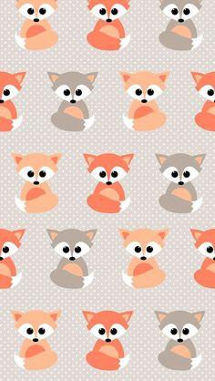 background, fox, cute