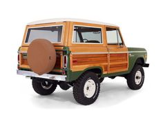 '74 Ford Bronco Woody Edition