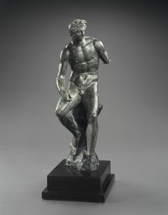 Hellenistic Bronze Statuette of Hermes. Culture : Greek, Hellenistic. Period : middle of the 4th century B.C., ca. 340 - 330 B.C.) Material : Bronze. | © Phoenix Ancient Art 2011