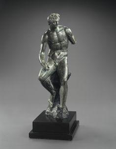 Hellenistic Bronze Statuette of Hermes. Culture : Greek, Hellenistic. Period : middle of the 4th century B.C., ca. 340 - 330 B.C.) Material : Bronze. | © Phoenix Ancient Art 2011