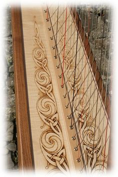 Switzerland pyrography  | Pyrography used in celtic knotwork design