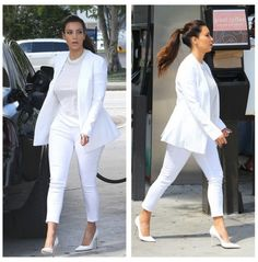 Kim Kardashian - All White