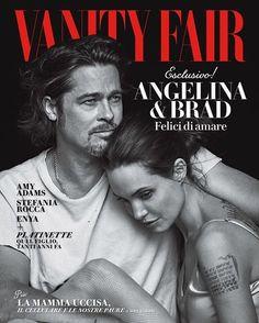 Brad Pitt & Angelina Jolie for Vanity Fair Italian by Peter Lindbergh (November 2015)  http://tipsrazzi.com/ipost/1514991316914687615/?code=BUGVJNygE5_
