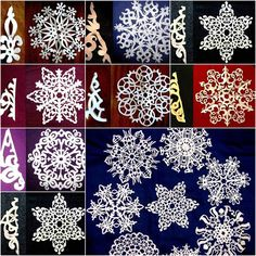 Creative Ideas – DIY Beautiful Paper Snowflakes from Templates