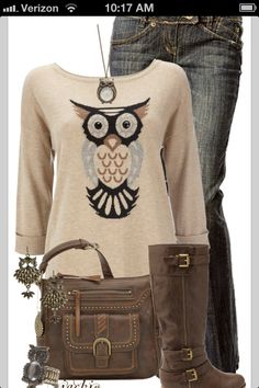 Sweater Casual w/ Boots