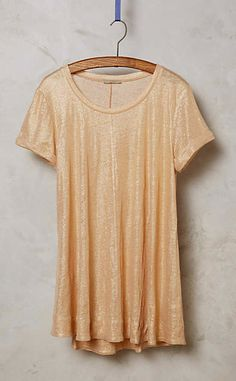 Glimmered Tee #anthroregistry