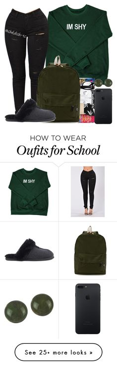 """""""School"""" by childish-tc on Polyvore featuring UGG"""