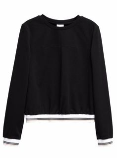 Minimalist Striped Sweatshirt by impaviid.com $39.99 Use code 'grace10' to get 10% off your order! #fashion #style #casual #minimal #casualfashion #sweater #winter #winterfashion #winter2018
