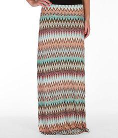 Daytrip Striped Maxi Skirt