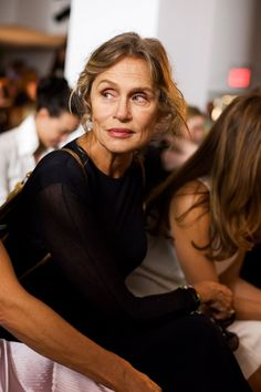 Lauren Hutton { I want to age as gracefully