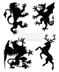 heraldic stag - Google Search