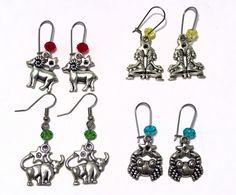 Zodiac earrings - Horoscope earrings - Aries Twins Taurus Cancer jewelry - Astrology - Personalized gift - Birthday gift by LifelikeJewelryShop on Etsy