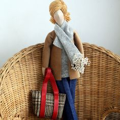 Custom OOAK Fabric Doll Made To Order by madebyagah on Etsy, $39.00