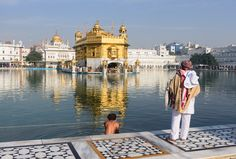 "https://flic.kr/p/scfMFv | Amritsar, India - Golden Temple | The name of the city derives from the name of the pool around the Golden Temple (aka Harmandir Sahib) and means ""holy pool of nectar"". It is the spiritual and cultural center of the Sikh religion, and they are rightfully very proud of the city and their very beautiful and unique Gurdwara (place of worship).   The Golden Temple was initiated by Guru Ramdaas Ji, the fourth Sikh Guru, and completed in 1601 by his successor Guru Arjan…"