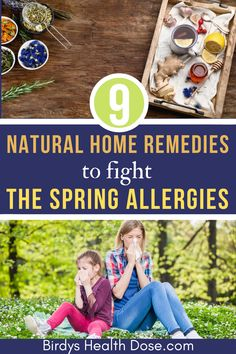 Allergy is a special way of the body reacting under the action of microbes or substances, called allergens. Remedies Natural Home Remedies to Fight The Spring Allergies Nutrition Tips, Health And Nutrition, Health Tips, Health And Wellness, Spring Allergies, Herbal Plants, Emotional Stress, Runny Nose, Healthy Lifestyle Tips