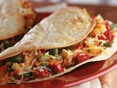 Cook Once, Eat All Week: Roasted Vegetables: Tuesday: Roasted Vegetable Tacos http://www.prevention.com/food/cook/?s=4