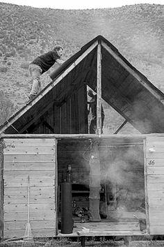 freedom in progress #handmade #cabin #woodland