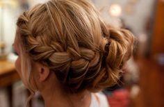 bridesmaid hair..again