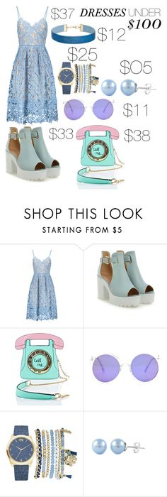 """""""dresses under $100"""" by linds-me1 ❤ liked on Polyvore featuring 3 AM Imports, Mixit and Miss Selfridge"""