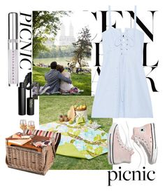 """""""Picnic"""" by mildredsunrise on Polyvore featuring Lara, American Vintage, Madison Park, Picnic Time, Solid & Striped, Madewell, Chantecaille and INIKA"""