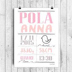 plakaty personalizowane z napisami dla dzieci P011