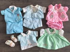 Vintage Cabbage Patch Kids Clothes Outfits Lot  | eBay
