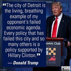 Detroit is a product of democratic socialism.