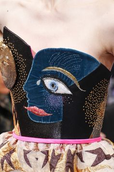 Schiaparelli Fall 2016 Couture Fashion Show Details. Jaglady