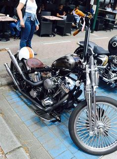 Softail Bobber, Bobber Chopper, Custom Motorcycles, Custom Bikes, Harley Bikes, Bobbers, Kustom, Choppers, Hot Wheels