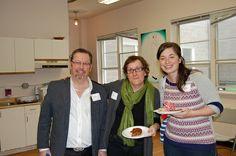 Cory (Bronson Centre), Tracy (Artswell) and Megan (Ottawa Salus).